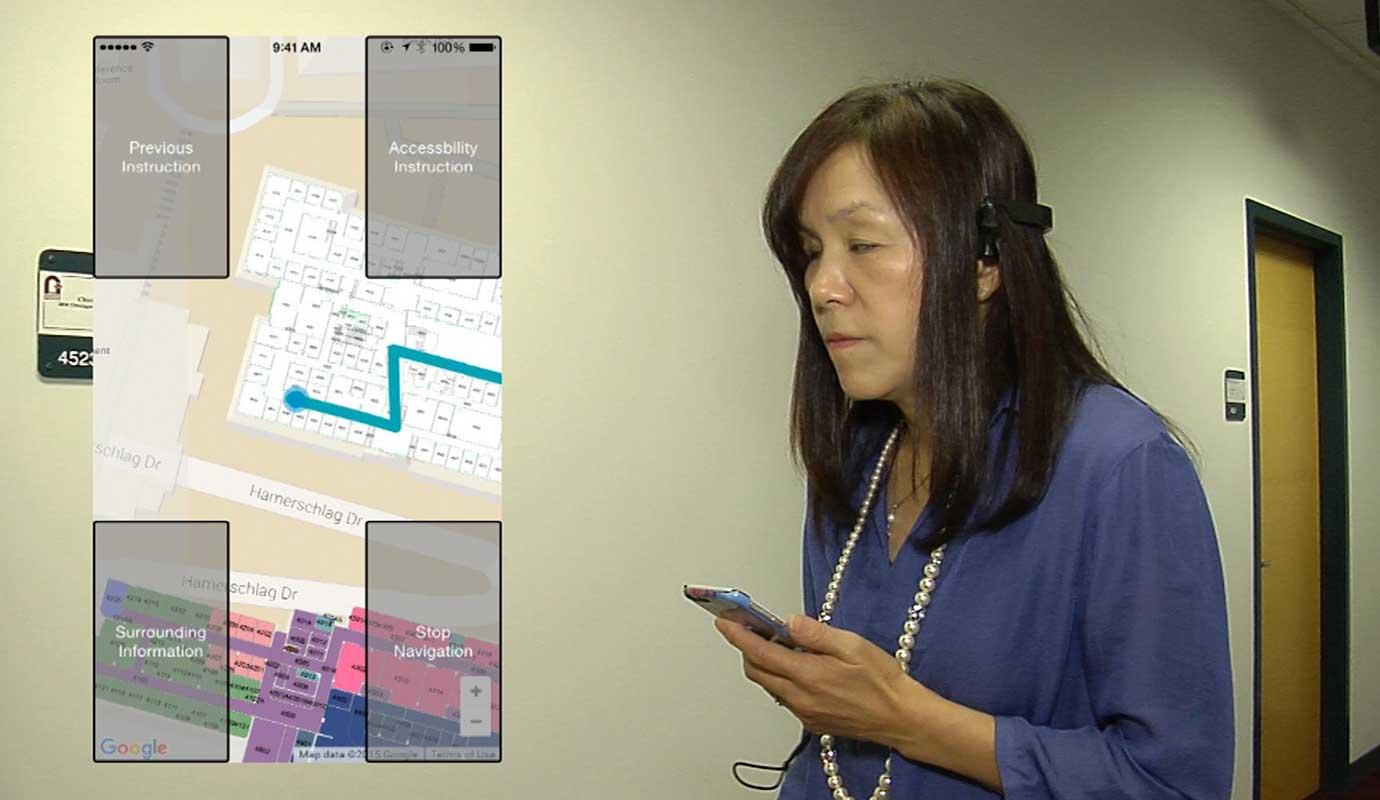 Blind-navigation-system